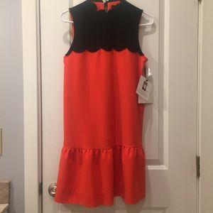 Victoria Beckham Scallop Dress